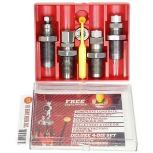 Lee Gunsmithing Tools Preciesion 90968 Deluxe 4 Die Carbide Set.45 Acp