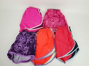 Nike Women Running Shorts Assorted Colors Size Med Lot of 5