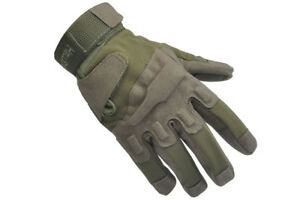 SAVE 25% - BLACKHAWK HELLSTORM TACTICAL GLOVES w KEVLAR OD GREEN - SMALL