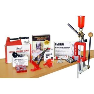 Lee Breech Lock Challenger Deluxe Single Stage Reloading Press Kit 90080
