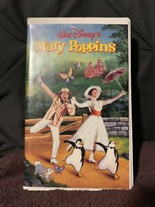 Mary Poppins VHS Original Cover Art
