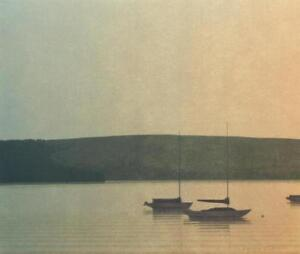 Russell Chatham Original Signed quot;Still Evening at Tomales Bayquot; Lithograph $115.00