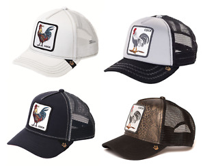 Goorin Bros Animal Farm Snapback Trucker Hat Cap Rooster BlackGrey Navy White