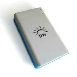 Cell Phone Battery Backup Dual USB Portable External Extended Battery Pack Por..