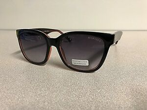 New TOMMY HILFIGER Men's Women's Sunglasses CLARA Designer Eyeglasss Black Frame