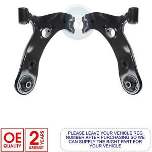TOYOTA AVENSIS AURIS FRONT AXLE LEFT RIGHT SUSPENSION WISHBONE CONTROL ARM ARMS