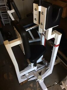 FITNESS TECHNOLOGY- ISOTRONIC HYDRAULIC RESISTANCE EXERCISE EQUIPMENT - 8 PIEC
