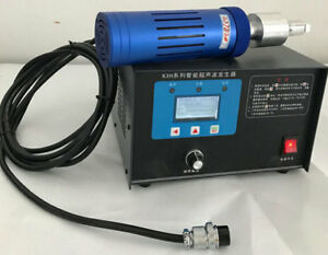 220V 1200W Handheld Digital Ultrasonic Spot Welder For Plastic HDPE PP PE