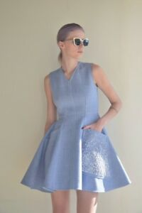 Christian Dior 'the Blue Denim' Dress