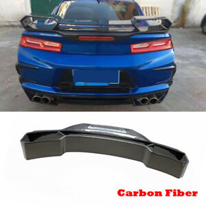 Carbon Fiber Racing Rear Trunk Spoiler Wing Fit for Chevrolet Camaro Coupe 16-18