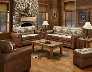 American Furniture Classics 4-Piece Sierra Lodge Sofa