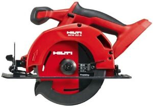 Hilti Circular Saw 22 Volts Wood Cutting Blade Lithium Ion Cordless Keyed
