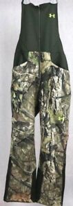 Under Armour Men's UA Stealth Fleece Hunting Bib - Med & Small - Mossy Oak Camo