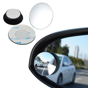 2x Rear Side View Blind Spot Mirror Universal Car Auto 360° Wide Angle Convex $2.89
