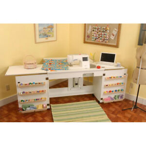Arrow Cabinet 98701 Bertha Sewing Cabinet White $999.00