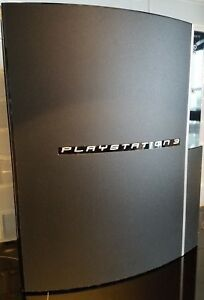 Sony PlayStation 3 Launch Edition 80GB Piano Console (CECH-L01) with Controller