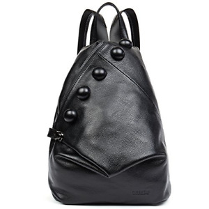 [Christmas Gift] Clearance Women Genuine Leather School Backpack Purse Shoulder