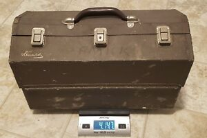 Vintage Kennedy Kits Tackle Box #1117AL - 4 Tray Cantilevered