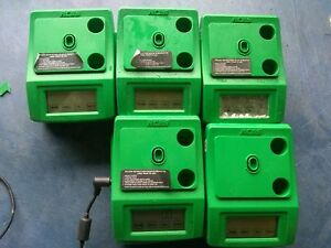 Lot Of 10 RCBS 50g Weight Onto Platen Scale