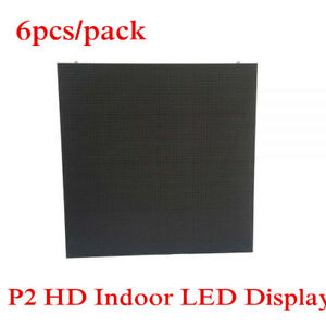6pcs  pack P2 Frameless Design Rental Indoor Advertising Led Display