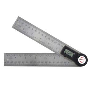 Angle Finder Digital 7 Inch Protractor Durable Stainless Steel Body 200mm Ruler $29.30