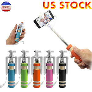 Mini Handheld Shutter Selfie Stick Photo Capture For iPod iPhone Samsung Android