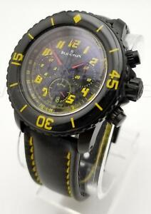 LK! BLANCPAIN FIFTY FATHOMS SPEED COMMAND FLYBACK CHRONOGRAPH