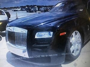 2012 Rolls-Royce Ghost Front Clip