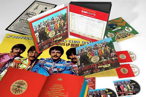 The Beatles 'Sgt. Pepper's Lonely Hearts Club Band' Deluxe Set Read Below New