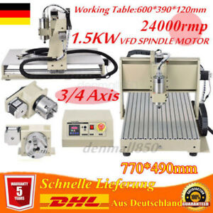220V 34AXIS 1500W VFD CNC6040Z ROUTER ENGRAVING DRILLING MILLING CUTTER MACHINE