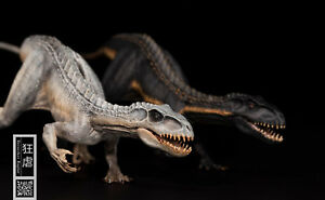 Indoraptor Figure Raptor Statue Dinosaur Model Collector Decor Gift Two Color