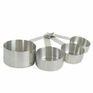 Stainless Measure Measuring Cups Spoon Set for Baking Cooking Cook Tablespoon