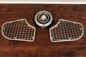 1951 Studebaker Champion Commander Land Cruiser Bullet Nose Ornament Grille