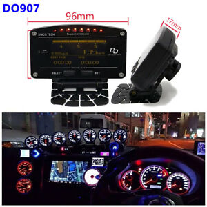 Advance ZD 10in1 Oil Water Boost Temp Fuel Pressure LED Gauge EGT OLED Display
