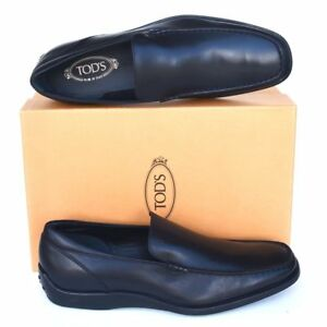 TOD'S Tods New sz UK 11 - US 12 Mens Designer Leather Dress Loafers Shoes black