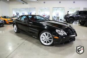 2006 Mercedes-Benz SLR McLaren 2dr Cpe 5.5L 2006 Mercedes SLR 461 Miles Very Rare Black with Silver Arrow Red Interior!!!