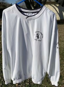 Chicago White Sox MLB Pullover Jacket Adult Cutter & Buck Rare Worker Only Xl