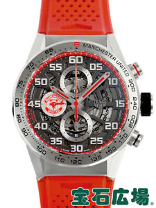 Tag Heuer Carrera Automatic Stainless Steel Men's Watch Caliber Heuer 01 43mm Ma