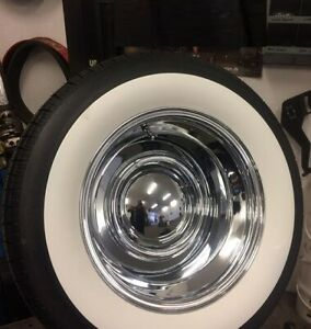 3quot; Wide White wall Old Tire Style Hot Rod Rat Street Rod Custom For 15quot; Tires..