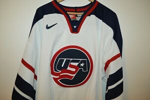 NIKE USA TEAM SPORTS United States Hockey Jersey Mens 56 (XL) Made in Canada