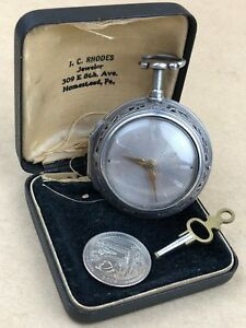 William Mould London fine 1760s cylinder Fusee 14 Repeater Silver Pockets watch