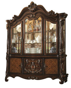 Acme Versailles Buffet withHutch in Cherry Oak