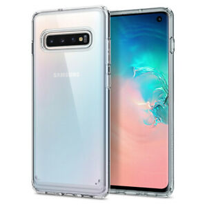 Galaxy S10 S10 Plus S10e Spigen® [Ultra Hybrid] Clear Shockproof Case Cover