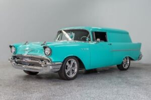 1957 Bel Air150210 Sedan Delivery 1957 Chevrolet 150 Sedan Delivery 860 Miles Tropical Turquoise Sedan 348ci 4-Spd