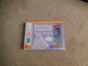 American Girl Dazzling Desserts with 5 cookie cutters 9781593694906