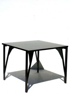 1960s Tric Trac by Castiglioni for BBB Italian Design Table and 4 folding Chairs