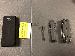 NIB Leatherman Charge Plus + Black Multi-Tool  With 8 bit Accessories