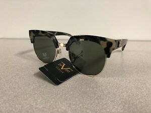 New Versace 19V69 Women's Sunglasses VALENTINA Designer Eyewear BlackGray