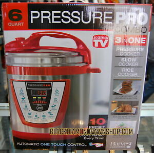 Multi-function Pressure Cooker 10 in 1 Cookware Electric Pressure Pro 6-Quart