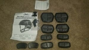 OPS CORE FAST Helmet OCC-Dial Liner Pads Kit Rail Adapters H-Nape; New